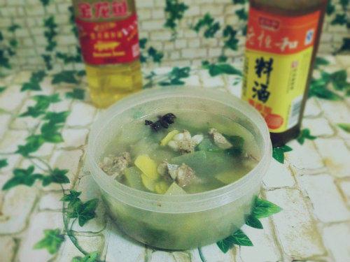 好吃的冬瓜排骨汤
