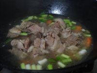 鲜嫩的羊肉粉丝锅的做法图解十