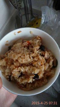 自己做的糯米饭