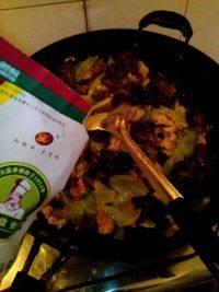 家常菜莴笋木耳炒肉片