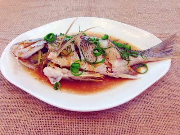 美味营养的清蒸鱼