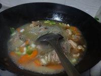 鲜嫩的羊肉粉丝锅的做法图解十三