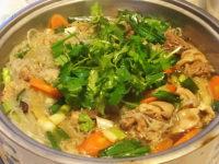 鲜嫩的羊肉粉丝锅的做法图解十五