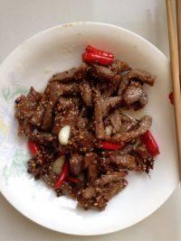 家常菜麻辣牛肉条