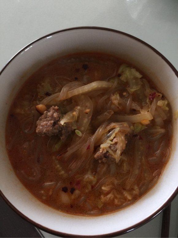 羊肉丸白菜湯