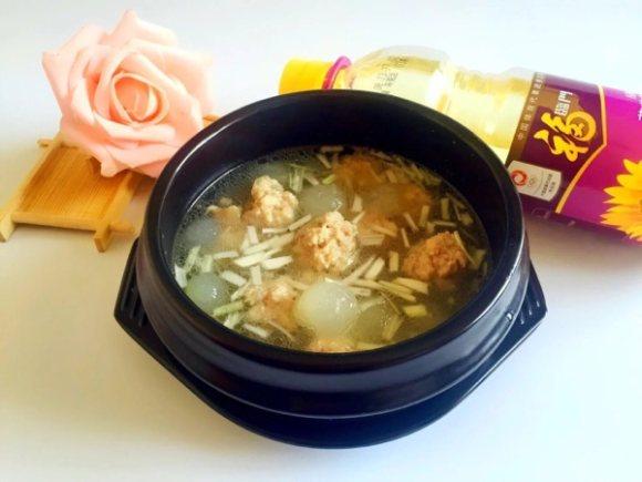 冬瓜丸子湯