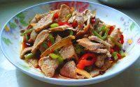 食欲满满的凉拌肉