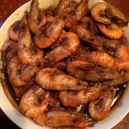 最爱的红焖大虾