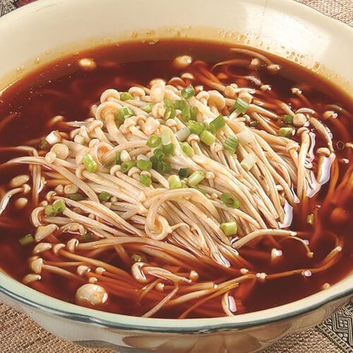 好喝的海带金针菇汤