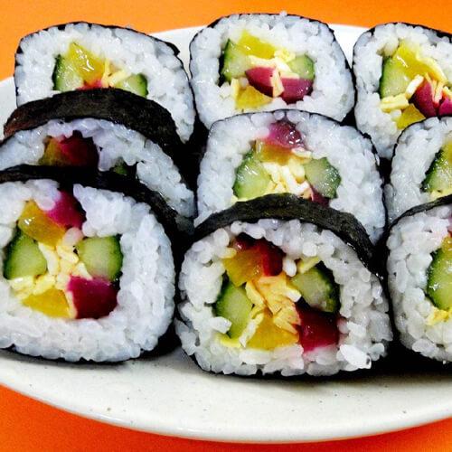 好吃的三鲜糯米寿司