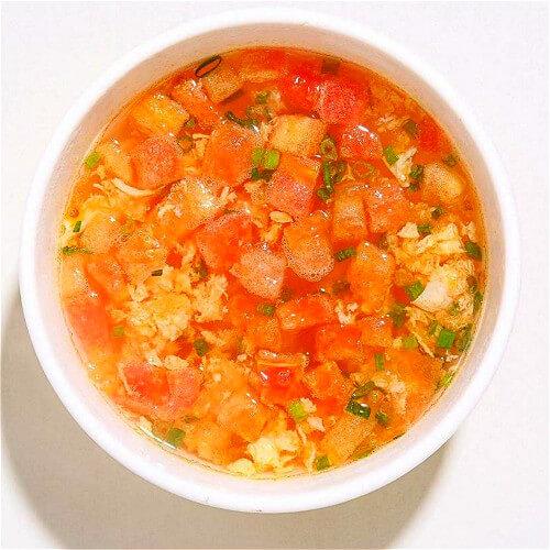 开胃小番茄鸡蛋汤