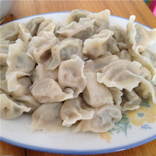 美味的東北酸菜水餃