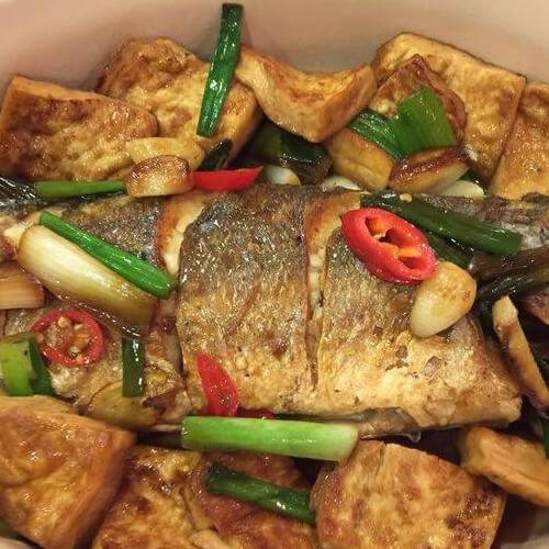家常版豆腐魚