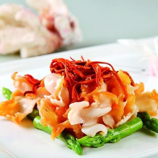 美味的西瓜皮炒海貝