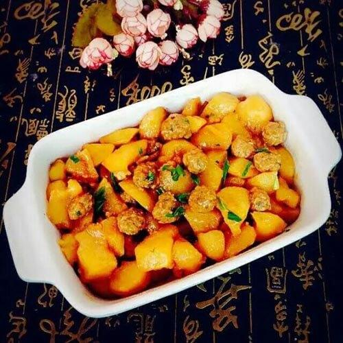 軟糯下飯紅燒土豆丸子