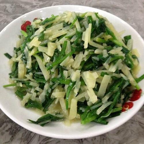 清炒韭菜土豆丝