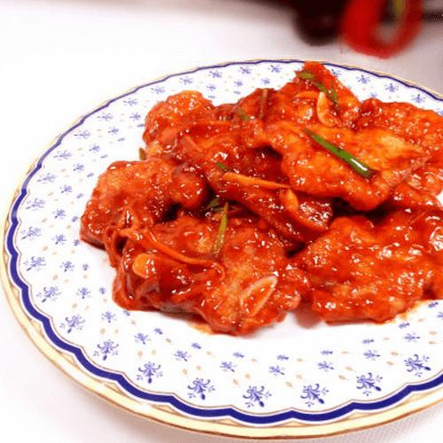 酸甜熘汁鍋包肉
