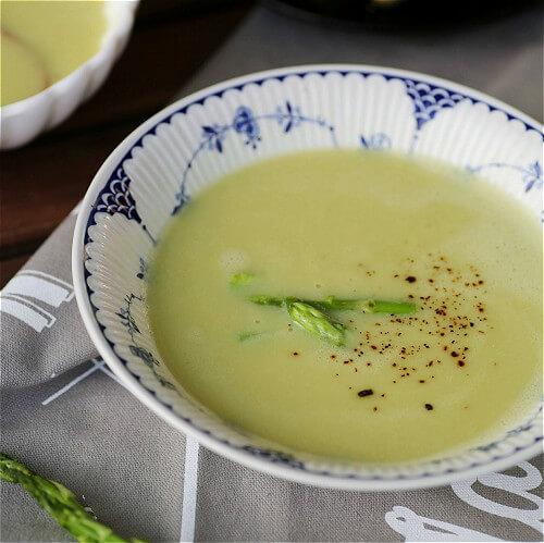浓香型的芦笋浓汤