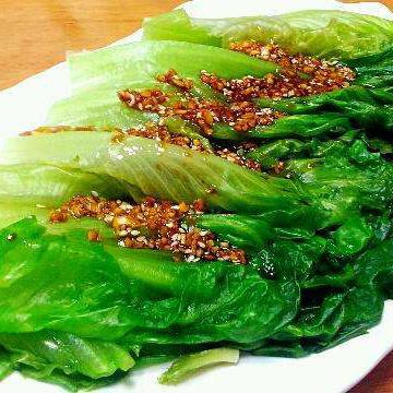 開胃的蒜蓉醬油生菜