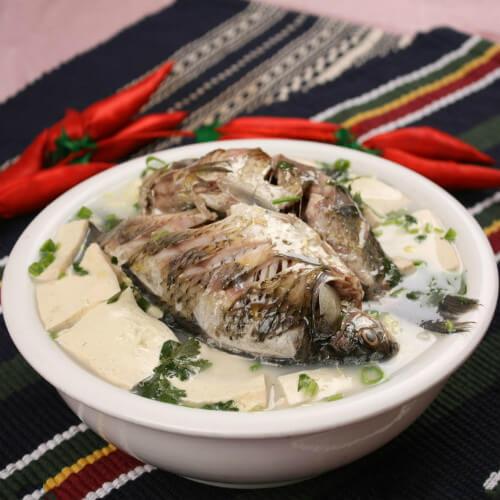 记忆中的鲫鱼炖豆腐