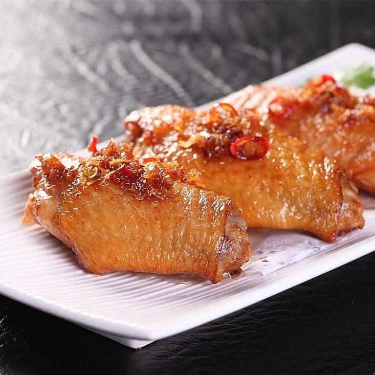 美味的香菇蚝油鸡翅