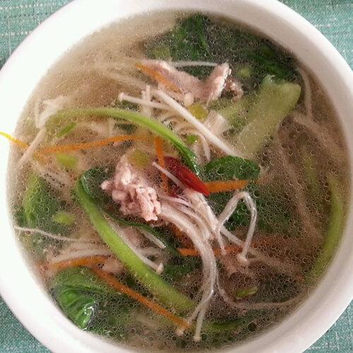 美味海带金针菇汤