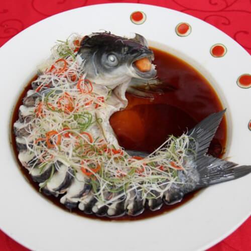 家常清蒸糖醋鲤鱼