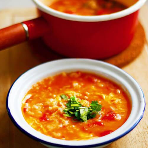 好喝的西红柿疙瘩汤