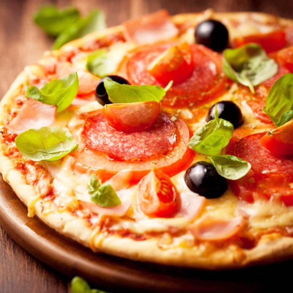 西餐免揉杂疏披萨