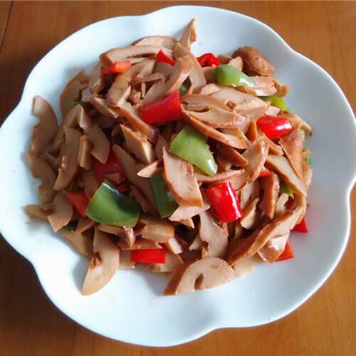 青椒炒素雞