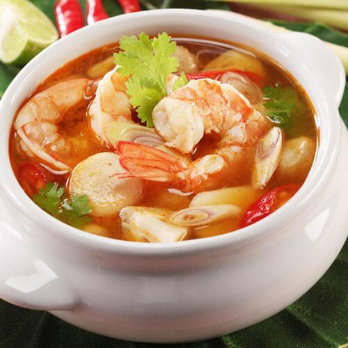 好喝的海鲜汤