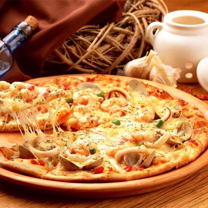 好吃的免揉杂疏披萨