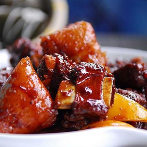 秘制醬香排骨粽