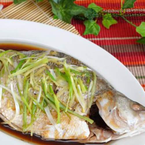 美味的清篜鯽魚