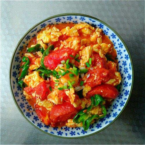 美味微波炉版番茄炒蛋