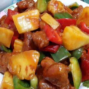 酸甜可口的番茄菠蘿炒蝦仁