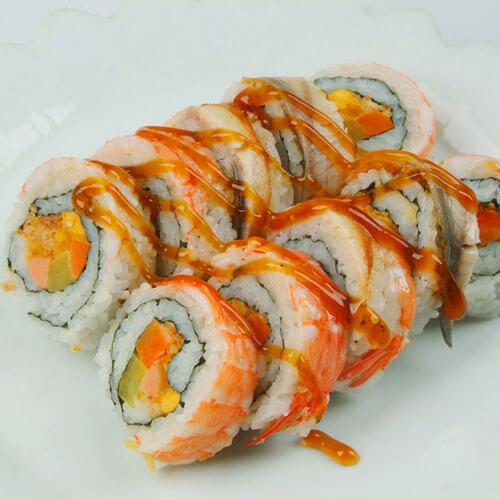 好吃的简易版寿司