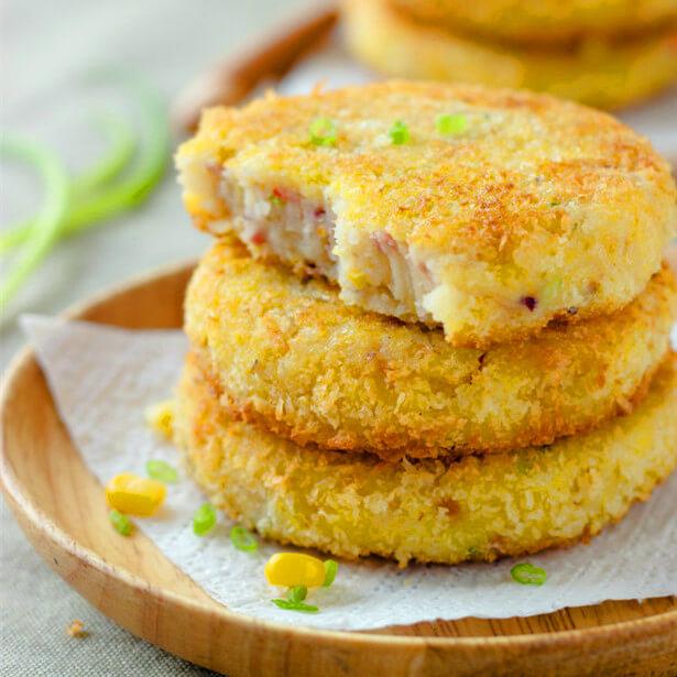 好吃的软软的土豆饼