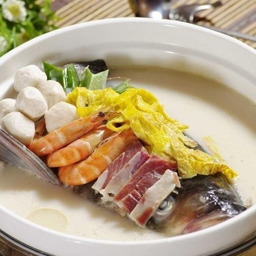 鲜美的瓠子鱼头汤