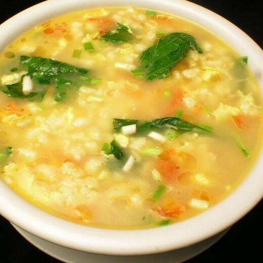 好喝西红柿鸡蛋面疙瘩汤