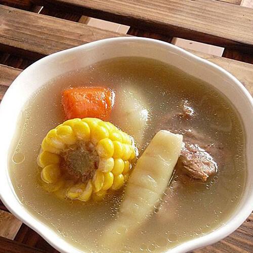 有营养的薏米竹芋脊骨汤