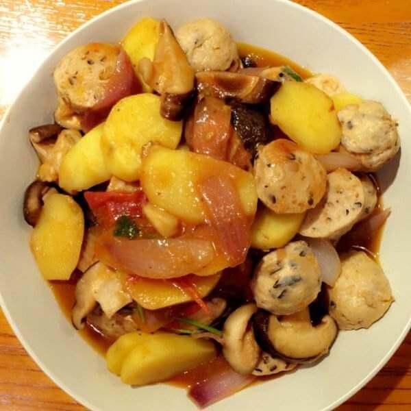 好吃的番茄土豆排骨亂燉