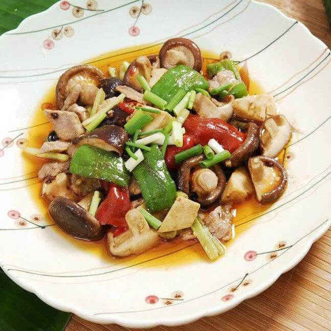 美味笋菜炒肉