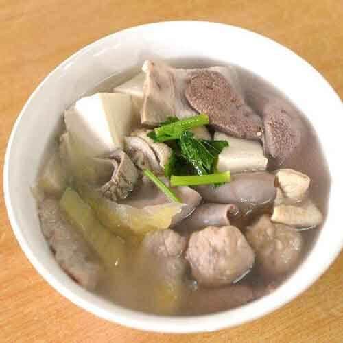 好喝的青菜豆腐肉骨汤