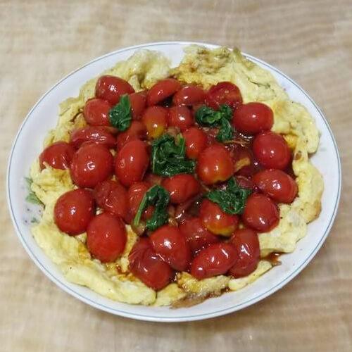 美味酸辣小番茄烘蛋