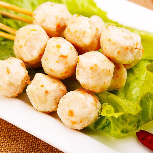 鲜美虾丸鸡蛋汤