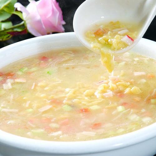 美味西红柿豆面疙瘩汤