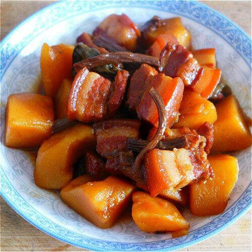 美味的紅燒肉多燉土豆
