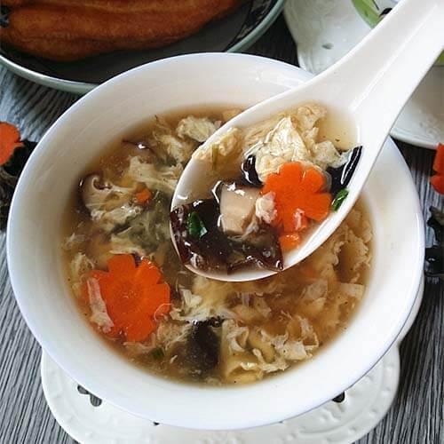 酸辣开胃香菇酸辣汤