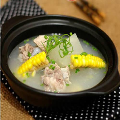 清热润肺的椰子玉米排骨汤